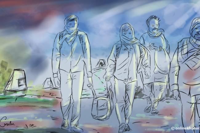 भारतमा नेपालीलाई भोकै मर्न बाध्य नपारियोस् : जनसम्पर्क समिति