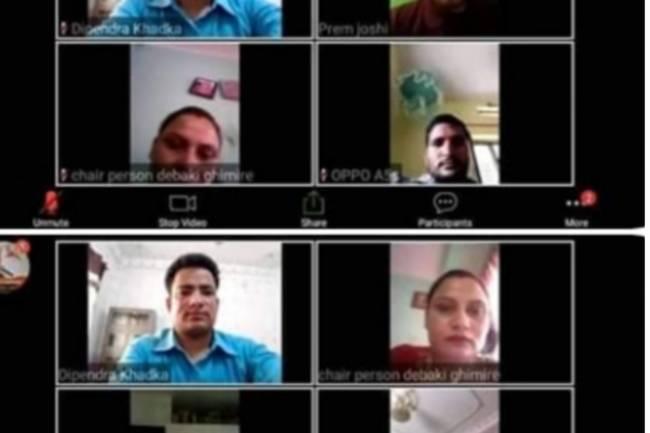 राष्ट्रिय उद्दम बिकास सहजकर्ता महासंघ को बैठक सम्पन्न : यस्ता छन निर्णयहरु