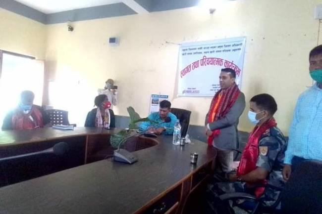 जातिय बिभेदका मुद्दा आएमा कानुन संवद कार्बाही अगाडी बढ्छ : प्रमुख जिल्ला अधिकारी भुसाल